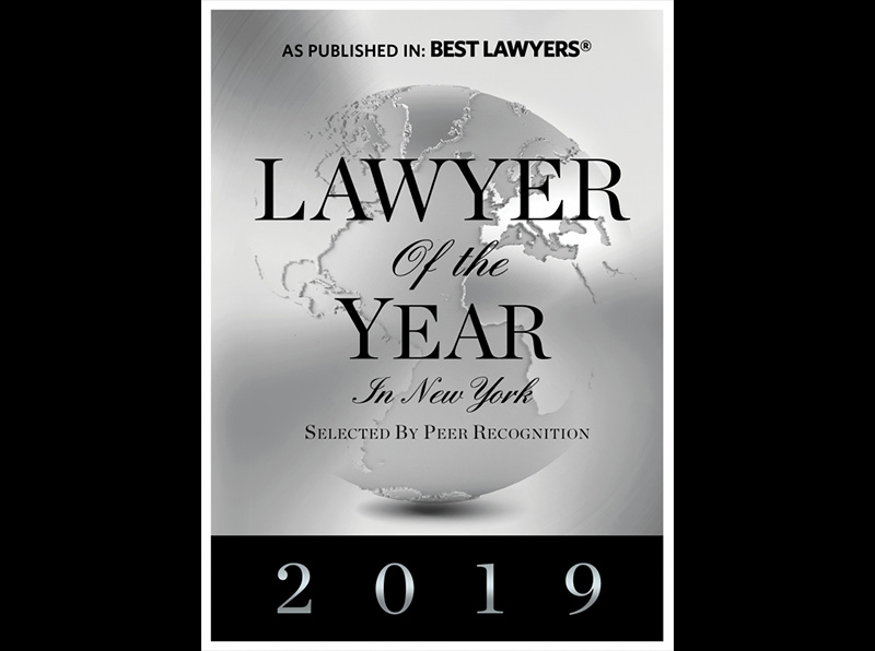2019 Lawyer of the Year Award